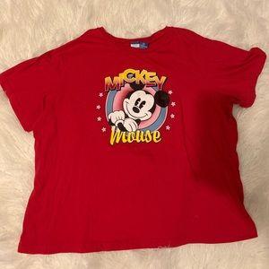 Women's Disney Mickey Mouse T-Shirt 2X